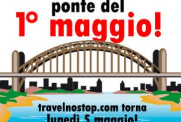Anche Travelnostop fa il ponte e torna il 5 maggio