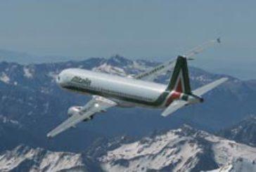 Alitalia: al via i voli da Crotone per Roma e Milano