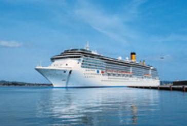 Costa Crociere: due navi in manutenzione a Palermo