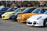 Matera ospita il raduno delle Porsche