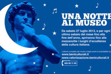 Musei aperti di notte sabato 30 e solidali con la Sardegna