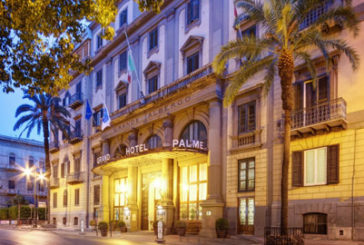 Tavolo di ping pong sul Grand Hotel Des Palmes