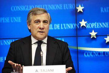 Tajani: serve strategia Ue per colmare il gap dell'insularità