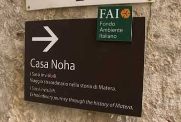 Inaugurato 'Casa Noha', nuovo infopoint della città dei Sassi