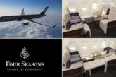 Il lusso di Four Season anche in aereo: dal 2015 viaggi intorno al mondo