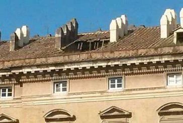 Nuovo crollo alla Reggia di Caserta, voragine in porzione di tetto