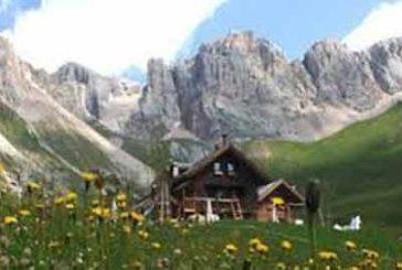 Alto Adige, in calo ospiti nei rifugi per il maltempo