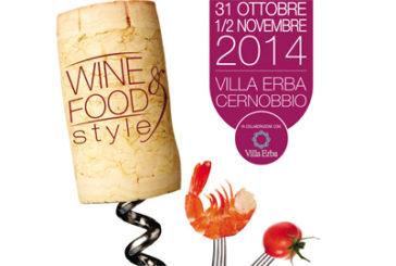 A Villa Erba la 1^ edizione del Wine&Food Style