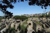 Boom di visitatori al Parco archeologico di Ercolano nel mese di aprile