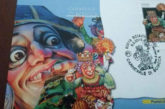 Carnevale di Sciacca per 4 giorni e arriva francobollo di Peppe Nappa