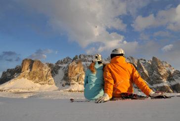 La neve imbianca la Val Gardena che si prepara ad una nuova stagione
