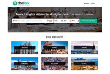 I ristoranti fanno pace con TripAdvisor: in Italia sbarca TheFork