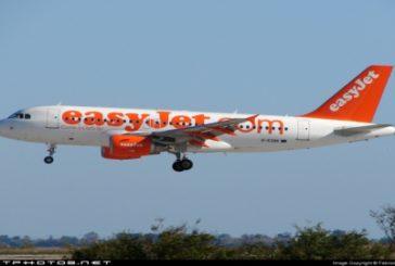 easyJet, cambio operativo voli per chiusura scalo Obia