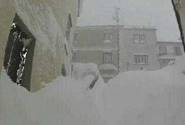 Neve da record a Capracotta. Sul Molise i riflettori della stampa internazionale