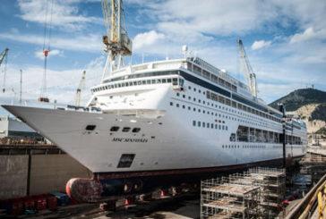 Msc: anche la nave Sinfonia allungata da Fincantieri