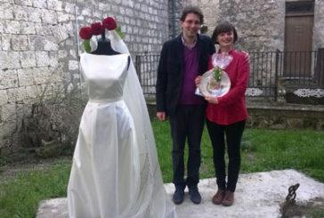 A Petralia il progetto I Art si conclude con un abito da sposa