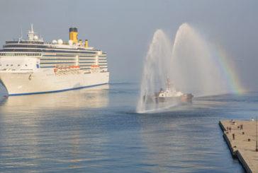 Costa Crociere, al via stagione 2015 da Trieste con Costa Mediterranea