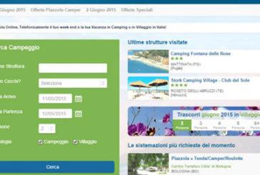 Sempre più utenti prenotano on line la vacanza in campeggio