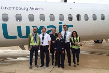 Luxair, al via volo Lussemburgo-Olbia