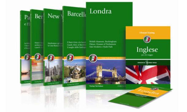 """Le """"nuove"""" guide verdi touring, perfette compagne di viaggio."""