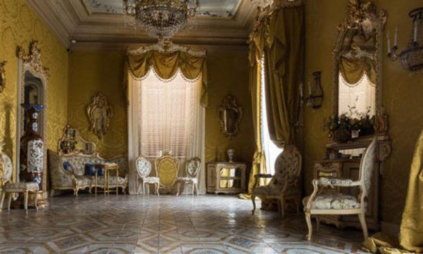 Palermo palazzo francavilla apre per una domenica for Ville antiche interni