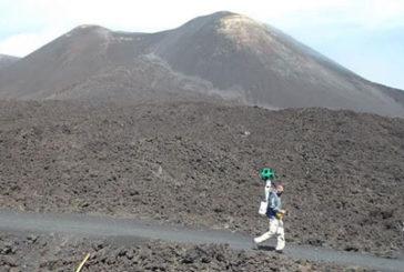 Trekking sull'Etna da casa?Google celebra anniversario Unesco