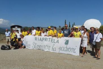 Flash-mob all'Isola d'Elba per riaprire villa romana