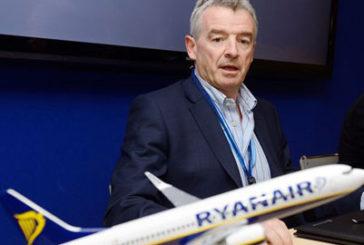 O'Leary: hub superati, in futuro sempre più voli diretti
