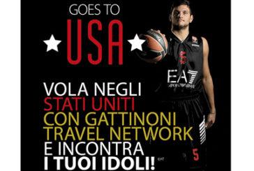 Gattinoni e Olimpia Milano volano in Usa