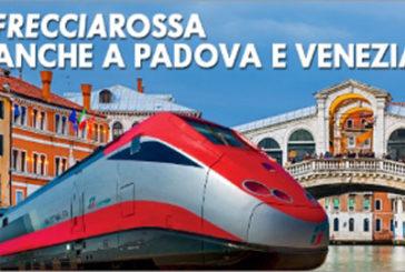 Frecciarossa, raddoppiano le corse sulla linea Venezia-Roma