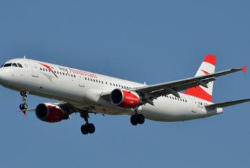 Austrian Airlines, a novembre cresce il volume dei pax
