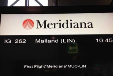 Meridiana inaugura il volo Milano Linate-Monaco di Baviera