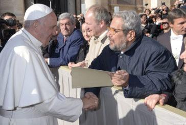 Lo Skal Club all'udienza del mercoledì di Papa Francesco