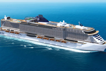 Tappa anche a Messina per la crociera inaugurale di MSC Seaside
