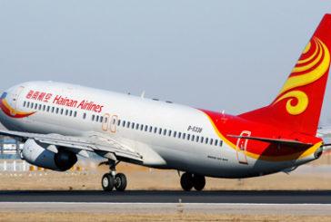 AdR, inaugurato il volo Roma- Shenzen di Hainan Airlines