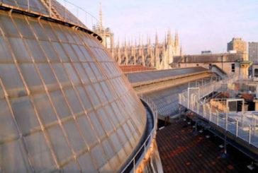 Natale sui tetti della Galleria di Milano