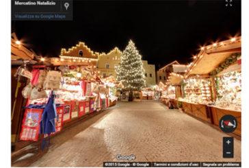 Scoprire i mercatini di Natale di Bolzano e Vipiteno con Street View