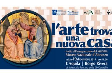 Sabato a L'Aquila Franceschini inaugura il MUNDA
