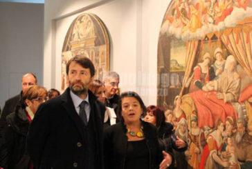 L'Aquila, Franceschini inaugura il Munda