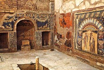 Restauri domus e iniziative culturali per nuovo anno di Ercolano