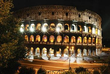 Colosseo: rinnovato l'impianto di illuminazione con sostituzione 120 proiettori
