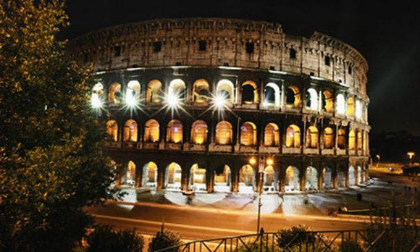 Colosseo rinnovato l impianto di illuminazione con sostituzione