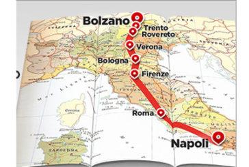 Trenitalia, dal 28 febbraio nuovo Frecciargento tra Napoli e Bolzano