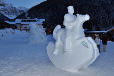 A Pontebba il 1° Festival delle sculture di neve