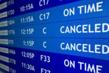 Lunedì stop di 4 ore negli aeroporti di Firenze e Pisa