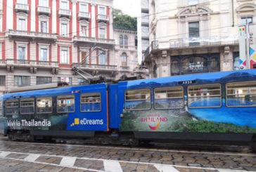 La Thailandia viaggia sui tram di Milano