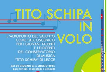 Aeroporto Brindisi palcoscenico per i giovani del conservatorio 'Tito Schipa'