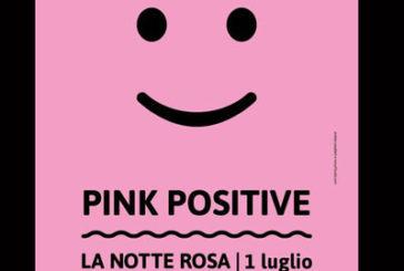 Tutto pronto per la Notte Rosa con il motto 'Pink Positive'