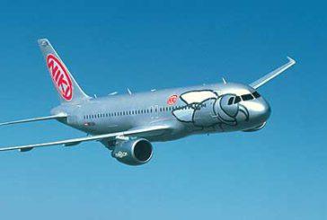 Scalo Olbia, Niki inaugura volo per Graz