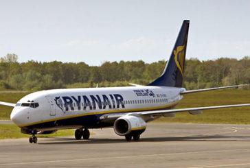 Ryanair, a giugno traffico pax a +11%